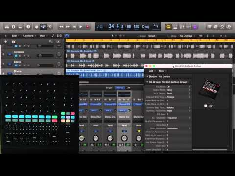 Livid DS1 Mixer Overview