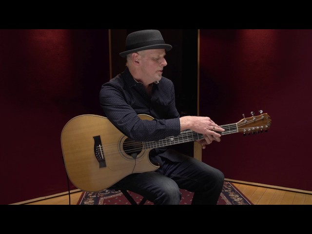 Willy Porter on iRig Acoustic Stage