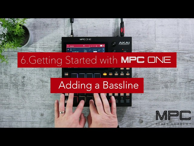 Getting Started | Adding a Bassline