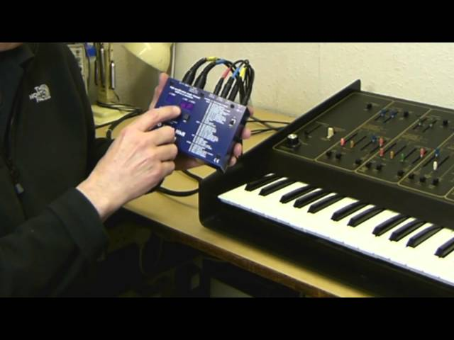 ARP Odyssey setting up the Kenton Pro Solo