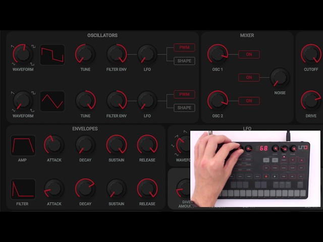 UNO Synth Editor Overview