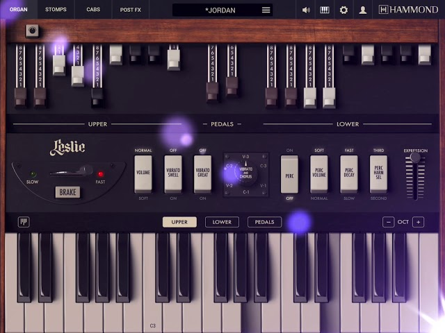 "Jordan Rudess on Hammond B-3X for iPad - ""Purple Mood"""