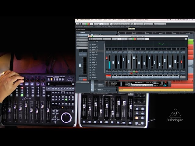 X-TOUCH / X-TOUCH COMPACT How To: Overview with Cubase