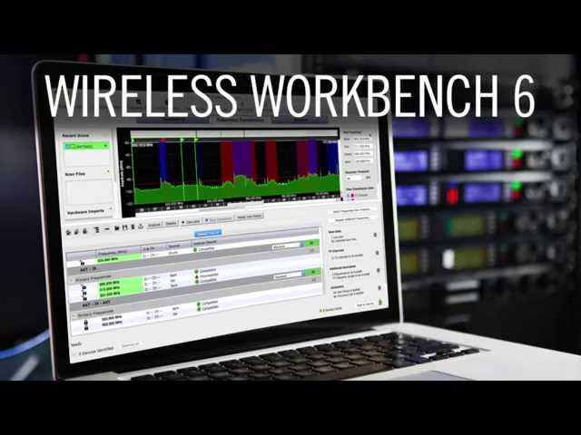 Shure Wireless Workbench 6