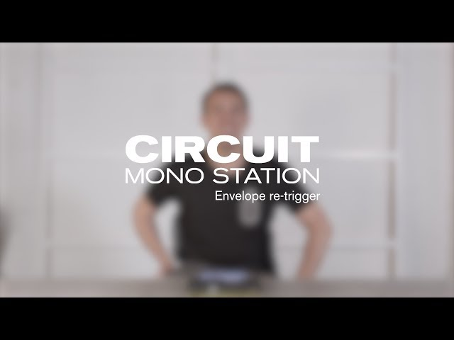 Novation // Circuit Mono Station v1.2 - Envelope Retrigger