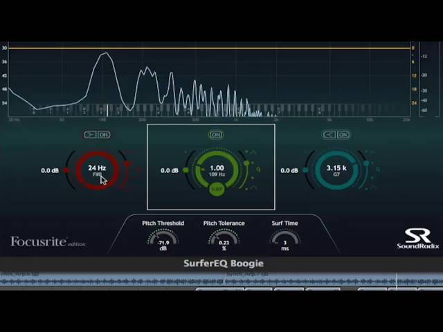 Focusrite // Plug-in Collective - Surfer EQ2 Boogie
