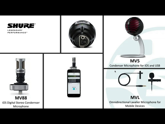 "Shure Webinar: Making Your Rough Recordings Anything But ""Rough"""