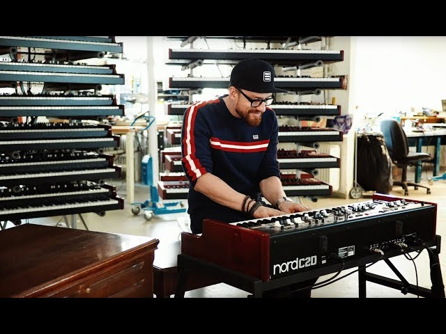 "Ondre J Pivec Sessions: Nord C2D with Leslie 145 speaker - ""His Eye is on the Sparrow"""