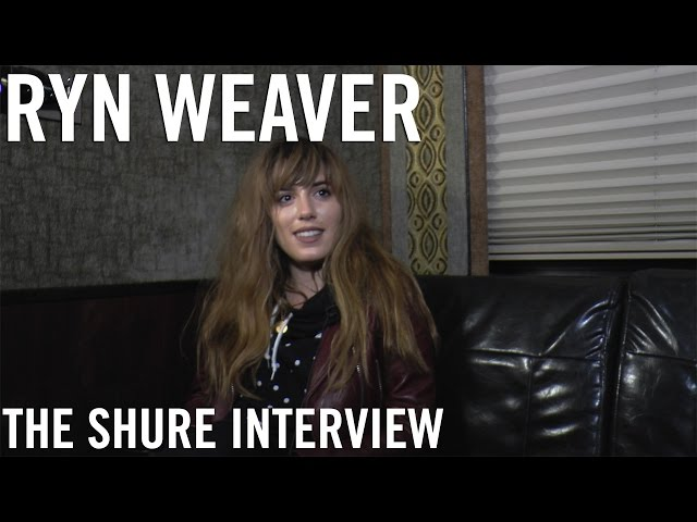 Ryn Weaver - The Shure Interview