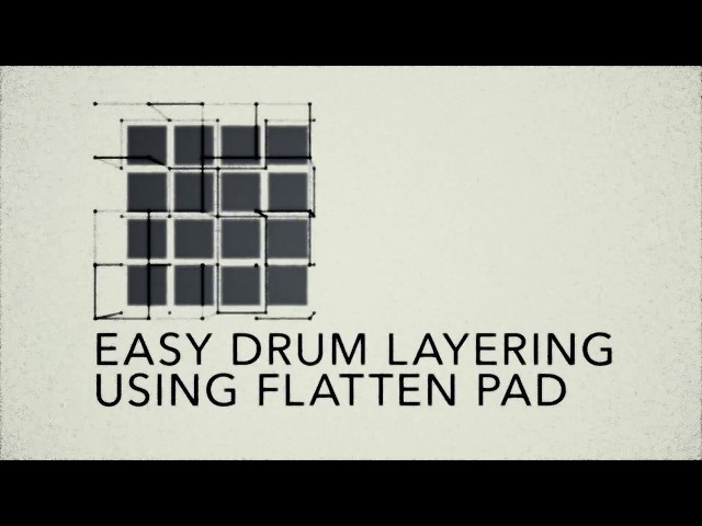 MPC Lounge: Easy Drum Layering Using Flatten Pad