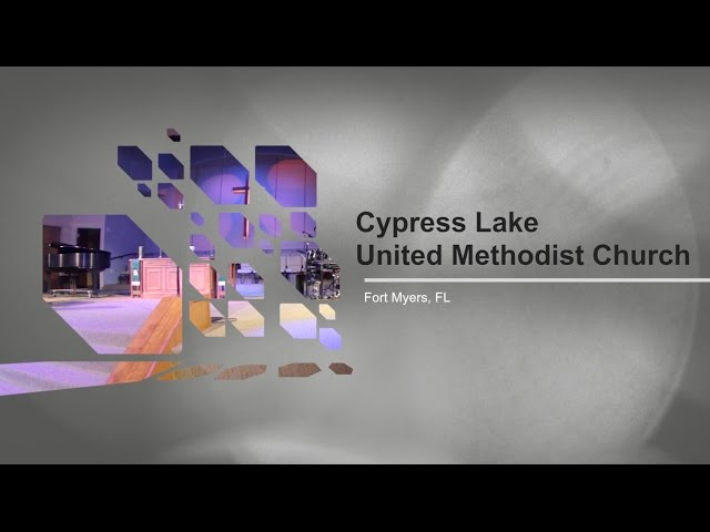 ADJ Installation: Cypress Lake United Methodist Church