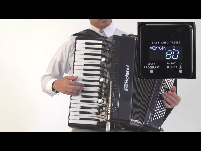 "Roland FR-4x/FR-4xb V-Accordion ""Playing Non-Accordion Sounds (For Right-Hand)"""
