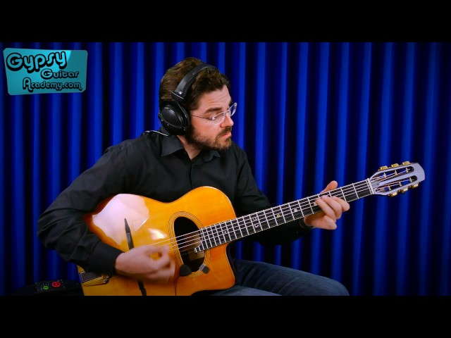 Joscho Stephan on iRig Acoustic Stage - Upbeat Pick Style