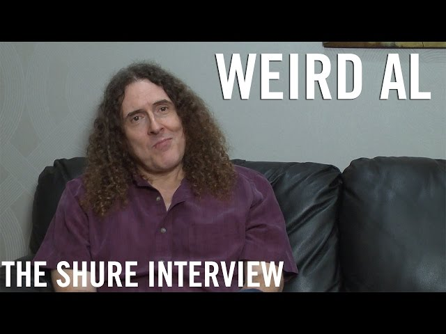 """Weird Al"" Yankovic - The Shure Interview"