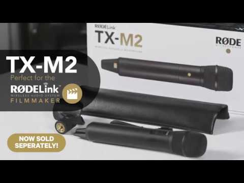 Features and Specifications of the RØDE TX-M2 Wireless Handheld Microphone