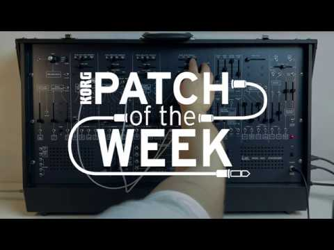 Patch of the Week 40: ARP 2600 – First Patch