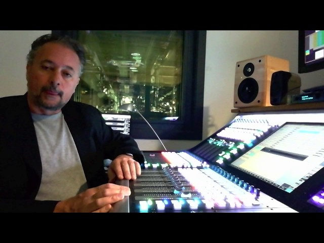 Mix Engineer Massimo Barbieri (X-Factor, Italia's Got Talent, Sky TV) with iLoud Micro Monitor