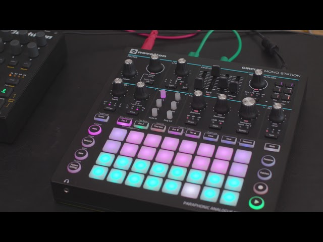 Novation // The Hack Series - Circuit Mono Station Clock Hack