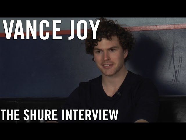 Vance Joy - The Shure Interview
