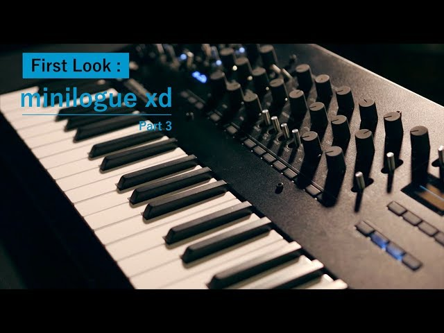 minilogue xd: First look with Kabuki (part 3)