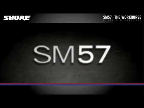 Shure SM57 Instrument Microphone Product Overview