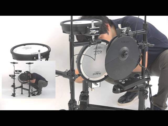 "Roland TD-1KPX ""Folding Easily (ex. 2)"""