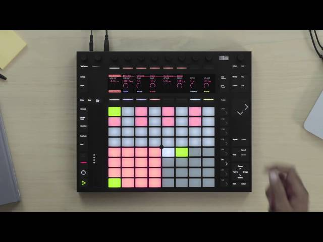 Making Beats with Ableton Push 2 – Sequencing Drums