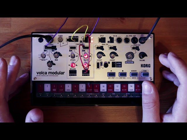 volca modular Patch of the Week 9: S+H Function Modulation