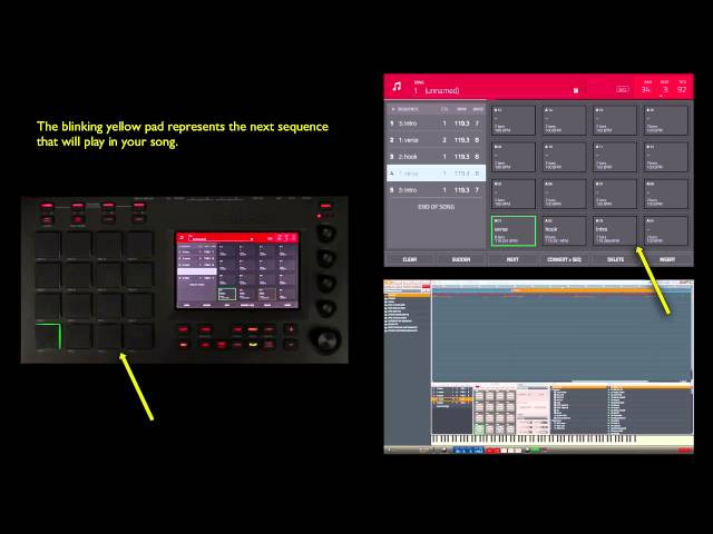 MPC Academy: Touch Workflow Pt. 8 - Song Mode