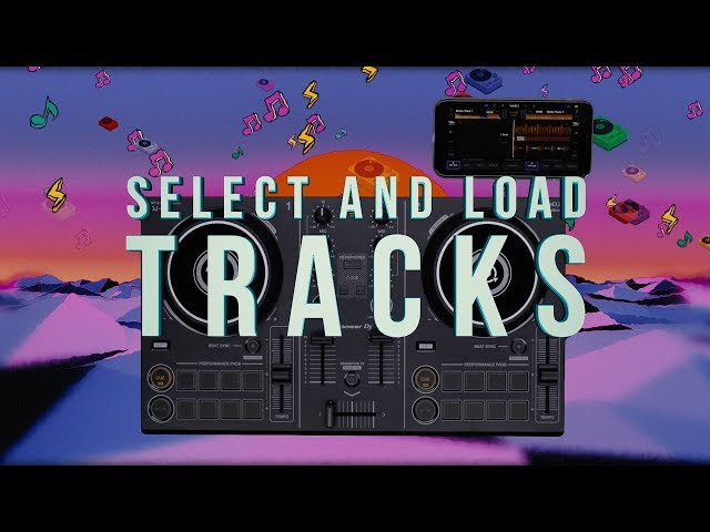 DDJ-200 and WeDJ Tutorials: SELECT AND LOAD TRACKS