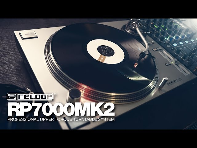 Reloop RP-7000 MK2 – NextGen Professional Upper Torque Turntable System (Official Introduction)