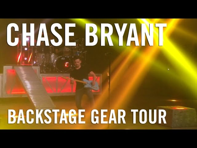 Chase Bryant: Backstage Gear Tour
