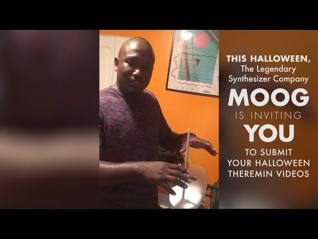 Announcing the 2017 Halloween Theremin Video Contest with Hannibal Buress