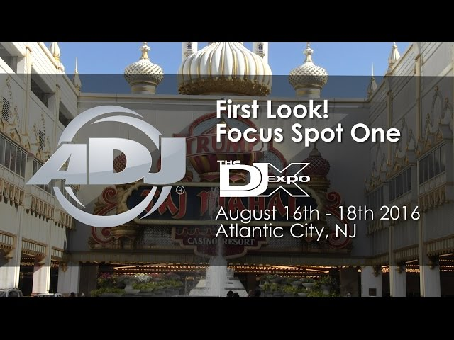 ADJ First Look! Focus Spot One