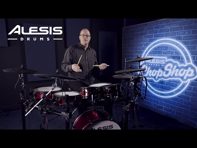 Whipping Cream Rolls and Moeller | Alesis Drums Chop Shop