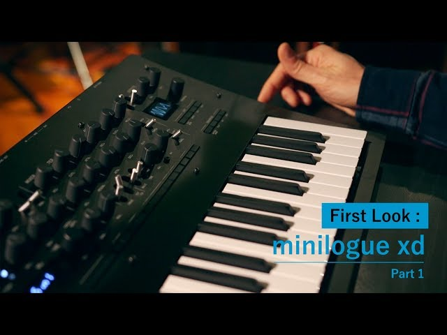 minilogue xd: First look with Kabuki (part 1)
