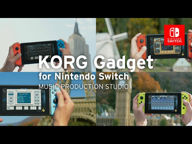 KORG Gadget for Nintendo Switch v2 | Make music together online