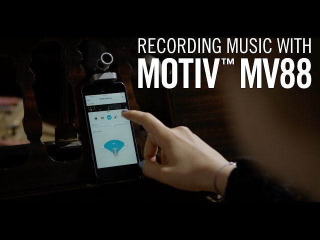 Recording Music with Shure MOTIV™ MV88 iOS Microphone - Moonrise Nation