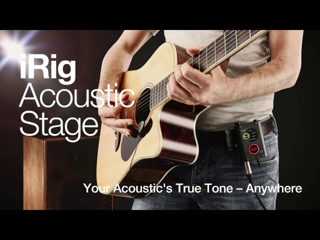 iRig Acoustic Stage - Trailer