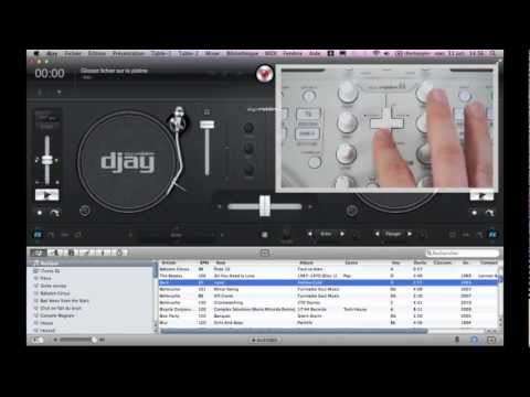 Tutorial: Play your iTunes library with Vestax Spin2 and algoriddim djay