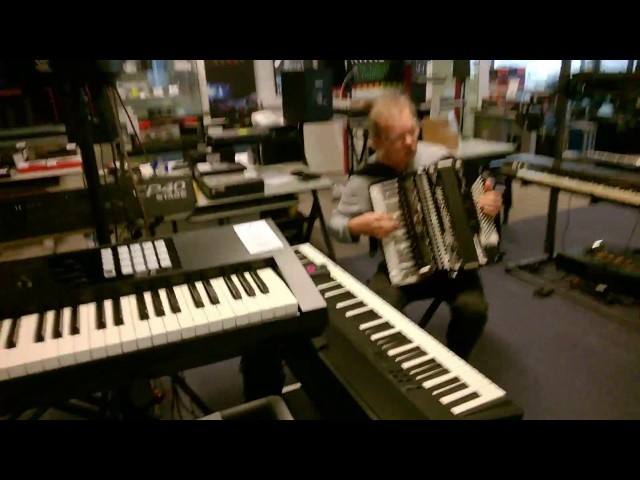 iRig Acoustic Stage on Accordion - Part 2