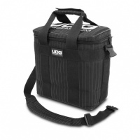 UDG Ultimate StarterBag Black/Grey Stripe - UDG Ultimate StarterBag Black, Сумка для виниловых пластинок.