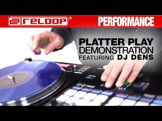 "Reloop RP-8000 MK2 ""G-Funk"" Platter Play Routine by DJ Dens (Performance)"