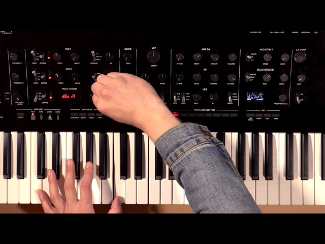 Korg Prologue Overview/Tutorial Part 2: MULTI ENGINE Oscillator