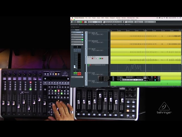 X-TOUCH / X-TOUCH COMPACT How To: Automation in Cubase