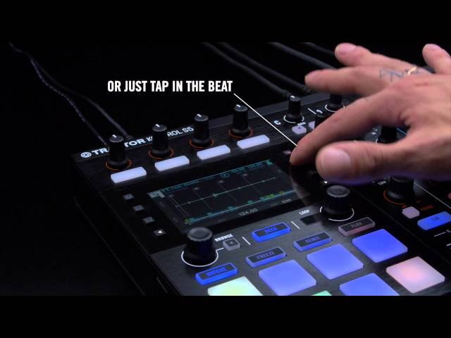 Mixing with TRAKTOR KONTROL S5: Beat-gridding tracks