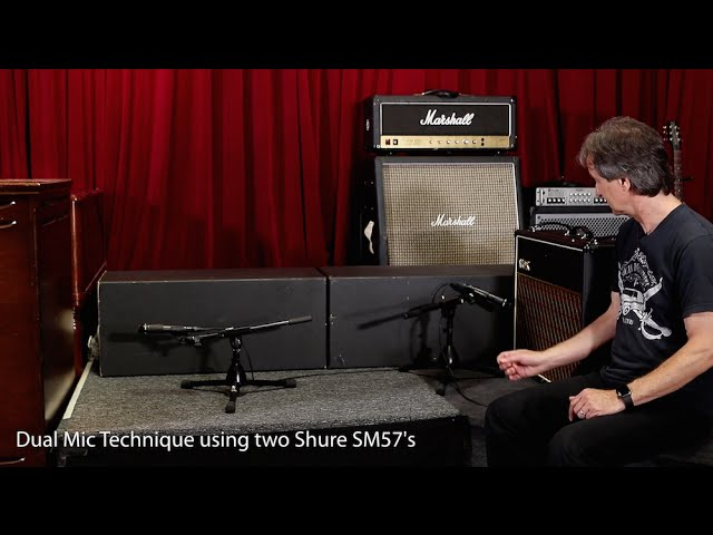 How to record an electric guitar amp - Part 3 (Feat. Bob Clearmountain)