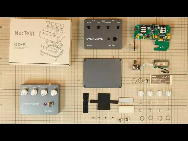 Nu:Tekt OD-S - Unboxing and Assembly tutorial