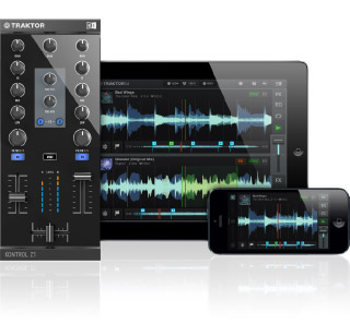 Native Instruments Traktor Kontrol Z1 подключение к iPhone и iPad