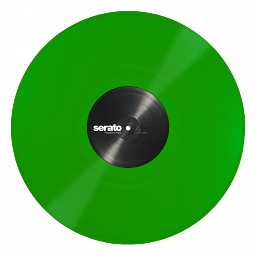 "Serato 12"" Control Vinyl Performance Series (пара) - Green по цене 2 780 руб."